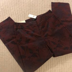 Ann Taylor Straight Ankle Pant NWT